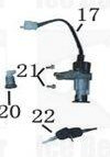 Ignition Switch Key Set - for Ice Bear MOJO (PST50-8) Engine Parts 50cc  Trike
