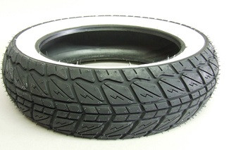 Shinko Whitewall Tire (120/70-12) - For Honda Ruckus