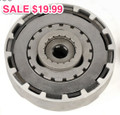 Clutch Assembly, 17-Tooth, 50cc-110cc 125cc SemiAutomatic- Cheap SALE