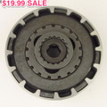 Clutch, 110cc 18-Tooth -  ENGINE50-125 (Semi-AUTO) 18T Sale $19.99