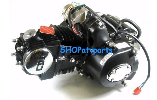 125CC SEMI AUTO ENGINE MOTOR W/ REVERSE ATV QUAD GO KART 3+1 125R