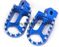 CNC RACING FOOTPEGS YAMAHA YZ85 YZ125 YZ250 YZ250F YZ426F YZ450F BLUE
