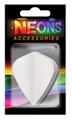 Neons™ White Kite Flights (1 Set)