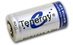 Tenergy 30201 RCR123A Rechargeable Battery