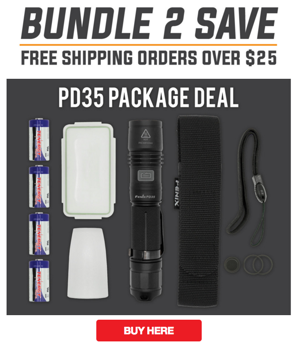 Fenix PD35 Flashlight