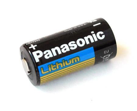 Splitter nya Panasonic CR123A Lithium Battery (CR123A-PANASONIC) BW-57
