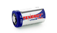 Tenergy Propel CR123A 3v w/PTC Lithium Battery 1400mAh