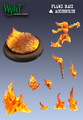 Base Inserts Flame Base/Accessories