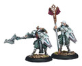Houseguard Halberdier Officer & Standard