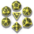 Yellow & Black Dragon Dice