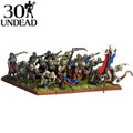 Kings Of War Undead Zombie Regiment W Command
