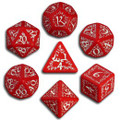 Red And White Elvish Dice