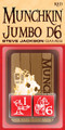 Munchkin 25Mmd6 Red Jumbo Dice (2)