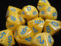 Vortex Poly D10 Yellow/Blue (10)