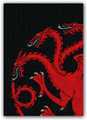Game Of Thrones House Targaryen Sleeves (50)