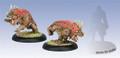 Hordes Skorne Reptile Hounds (2)