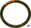"""Warmachine 4"""" Area Of Effect Ring Marker"""
