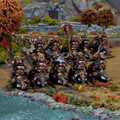 Kings Of War: Dwarf Berserker Brock Riders (10)