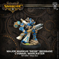 Warmachine Cygnar Major Markus Siege Brisbane