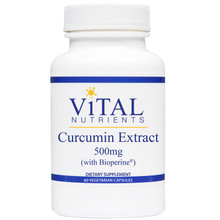 Designs for Health, Formula: VNCUR - Curcumin Extract 500mg 60 Vegetarian Capsules