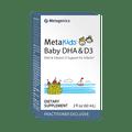 Metagenics Formula: DHALQKID - MetaKids® Baby DHA & D3 - 60 Servings