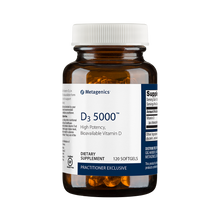 Metagenics Formula: D5000  - D3 5000 - 120 Softgels