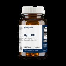 Metagenics Formula: D5000  - D3 5000 - 120 Softgels