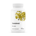 Thorne Research Formula: D128 - D-1,000 - 90 Vegetarian Capsules
