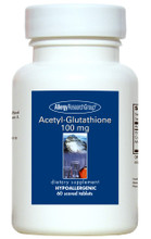 Allergy Research Group, Formula: 76430 - Acetyl-Glutathione 100mg 60 Scored Tablets