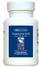 Allergy Research Group, Formula: 71220 - Coenzyme Q10 50mg with Vitamin C 75 Vegetarian Capsules