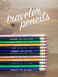 The Traveler Pencil 12 Pack. Super fun gift idea!