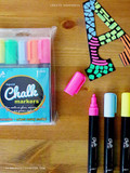 Loving these neon chalk markers!