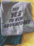 Say Yes to New Adventures Roadtrip Tee