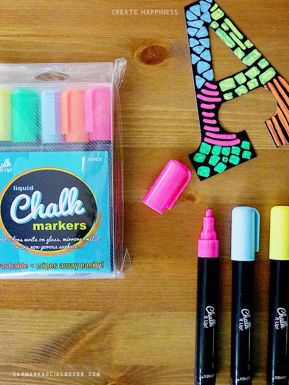 loving these neon chalk markers