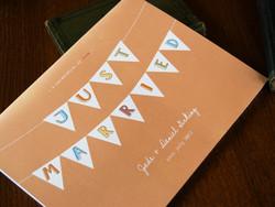 Pennant Wedding Guest Book