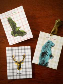12 Spirit Animal Personalized Note Cards
