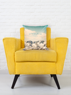 Unique and fun pillow, great for any space!