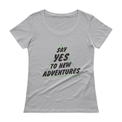 New Adventures Scoopneck Tee
