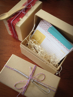 Recipe Box with 36 Cards Gift Set