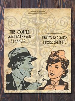Cold Coffee Art Print