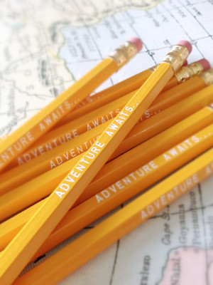 Adventure Awaits Pencil 6 Pack
