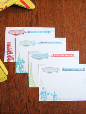 12 Zeppelin Personalized Notes