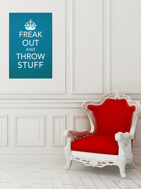Freak Out Art Print