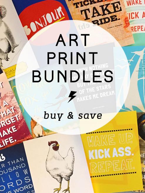 5x7 Art Print Bundle