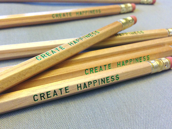 Create Happiness Pencil 6 Pack