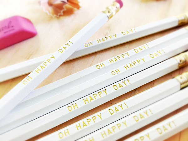 Oh Happy Day Pencil 6 pack