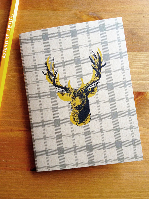 Stag Pocket Note Book