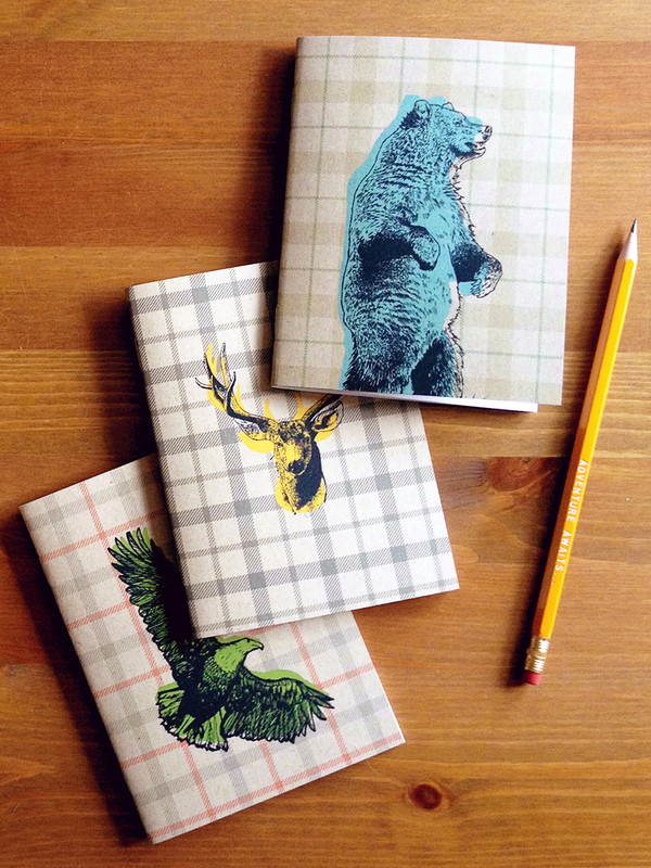 Check out our other unique Spirit Animal Notebooks!