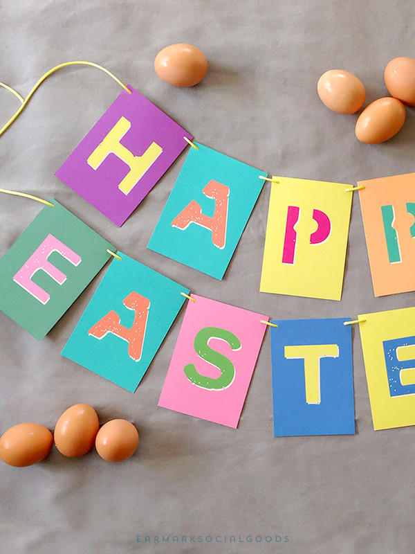 Brights Easter Garland