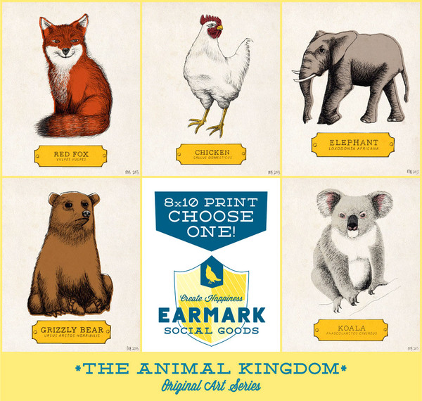 Choose from these five wonderful creatures!
